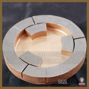 Diamond Satellite Calibrating Wheels for Grinding Stone Slab pictures & photos