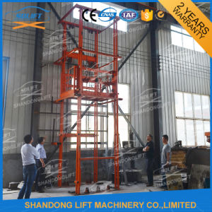 Guide Rail Chain Elevator Freight Upright Cargo Lift pictures & photos