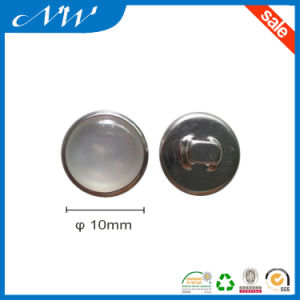 Pearl Metal Sewing Button with Back Side Hook