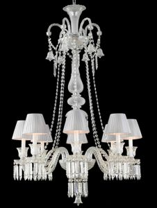 Modern Dining Room Glass Pendant Chandelier Lamp (KAMZ0726-8WS) pictures & photos