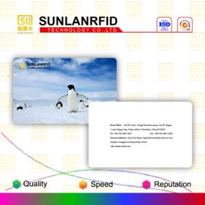 PVC/Pet/ABS Ntag203/213 Nfc Blank Card pictures & photos