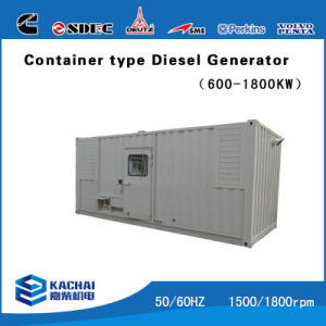 50kVA to 1000kVA AC Power Soundproof Generator with Cummins Engine