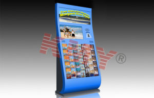 Free Standing Customized & Multi-Function Information Kiosk Kmy8211-1A pictures & photos