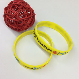 2016 Manufature Bulk Cheap Customised Silicone Bracelet pictures & photos