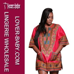 Brazil African Dashiki Woman Dress (L28068-7) pictures & photos
