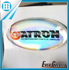 Customized Printing Epoxy Printing Eco-Friendly Crystal Clear Label pictures & photos