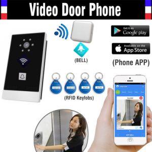 Mobile APP Remote Control WiFi IP Video Door Phone pictures & photos