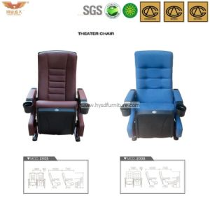 Comfortable Folding Cinema Seating with Cup Holder pictures & photos
