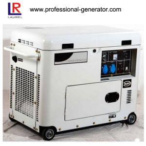6.5kVA Portable Silent Diesel Generator with 15HP Diesel Engine pictures & photos