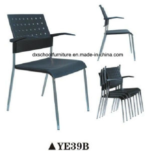 New Fashion Office Chair Plastic Chair with Armrest pictures & photos