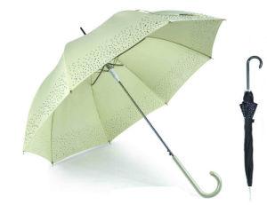 Border Print Straight Automatic Birdcage Umbrella (YS-SA23083919R) pictures & photos