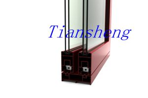High Quality Heavy Duty Aluminum Sliding Door with Double Glazing pictures & photos