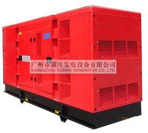 Kusing Pk34000 500kVA Three Phase Silent Diesel Generator