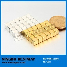 High Performance Neodymium Gold Coated Magnet pictures & photos