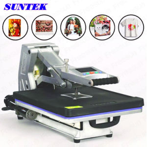Drawer Type Hydraulic Silver Black Heat Press Machines (ST-4050) pictures & photos