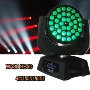 36*15W RGBWA 5in1 Disco Wedding Party Wash Zoom LED Moving pictures & photos