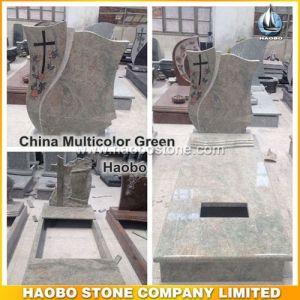 Granite Tombstone European Style Gravestone pictures & photos
