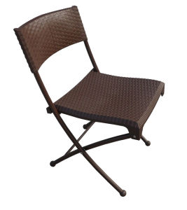 Rattan Plastic Folding Chair pictures & photos