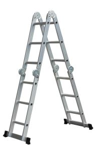 Big Hinge Aluminium Multi Purpose Ladders 4X3 pictures & photos