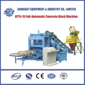 Full-Automatic Cement Brick Making Machine (QTY4-15) pictures & photos