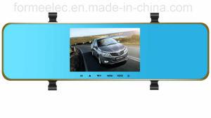 5 Inch Dual Lens Rearview Car DVR pictures & photos