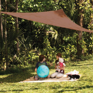 Best Sale! 100% New HDPE Fabric Sun Shade Sail for Kids Playing (Manufacturer)