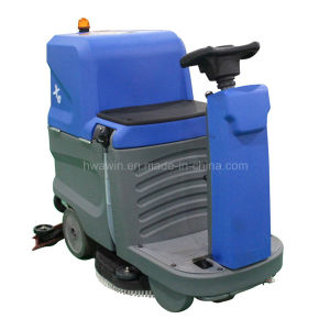 Hospital Electric Ride on Floor Scrubber pictures & photos