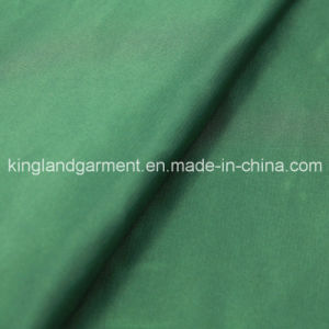 Polyester Inherently Fire/Flame Retardant Fireproof Green Satin Fabric pictures & photos