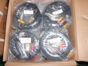 50FT Siamese Pre-Made Power and Video CCTV Cord (VP50FT) pictures & photos