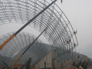 Prefab Space Frame for Coal Shed pictures & photos