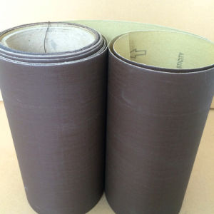 Calcined Aluminum Oxide Abrasive Cloth J870k Stainless Polishing 400# pictures & photos