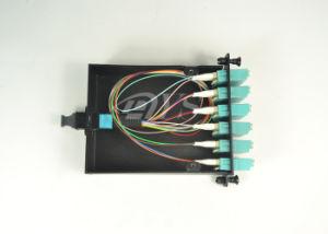 MPO/MTP-LC 24 Core Fiber Optic Cassette pictures & photos