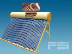 Medium-Pressurized Coiling Copper Finned Tube Solar Water Heater 803 pictures & photos