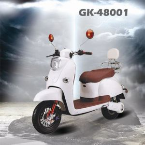 Big Power Electric Scooter with Pedals 48V Moped pictures & photos