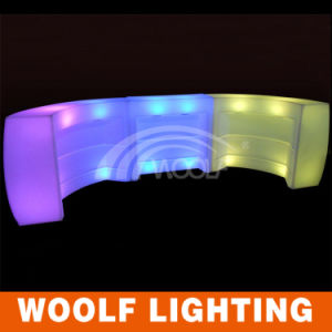 Modern Plastic Commercial LED Light Bar Tables for Sale pictures & photos