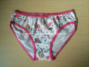Cute Picture Print Girl Brief Underwear pictures & photos