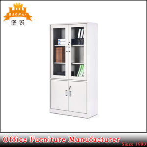 Waterproof Metal Visible Filing Cabinet with Two Drawer pictures & photos