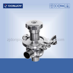 Ss Manual Tank Bottom Diaphragm Valve (Clamped connection) pictures & photos
