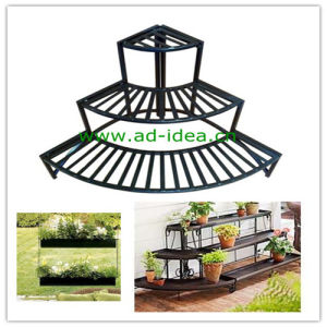 Metal Garden Plant Stand, Plant Display Rack (AD-GDS-9871) pictures & photos