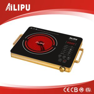 CE/CB Certification and Aluminium Housing Big Plate Infrared Cooker pictures & photos