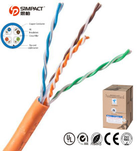 UTP Category 6 Lszh Cable pictures & photos