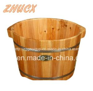 2016 Popular Wooden Footbath/High Quality Footbath Wooden Material Cx-Fb015 pictures & photos