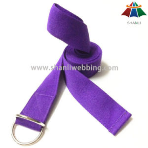 Best Price Eco-Friendly Cotton Yoga Belt Strap Made in China pictures & photos