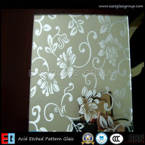 Clear Acid Etched Glass/Frosted Glass/Colored Frosted Glass/Tinted Acid Etched Glass/ (AD43) pictures & photos
