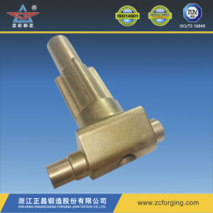 Forging Copper Fitting by Hot Forging with Machined pictures & photos