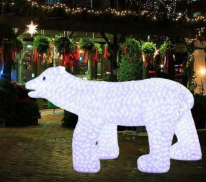 New Christmas Village Holiday Decoration LED Light Snowman pictures & photos