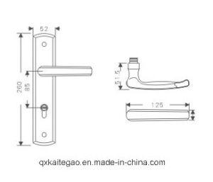 (KTG-8508-011) High Quality Satin Finish Door Lock pictures & photos