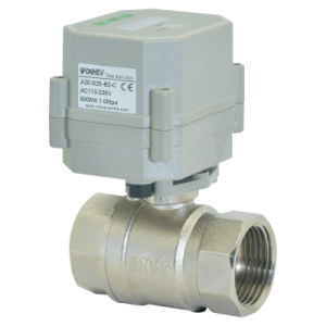 2way 1 Inch Time Seting Brass Valve Automatic Drain Ball Valve (S25-N2-C) pictures & photos