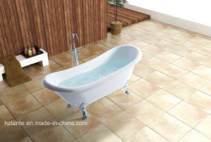 Hot Black Color Acrylic Classic Bath Tub with Foot (LT-11TB) pictures & photos
