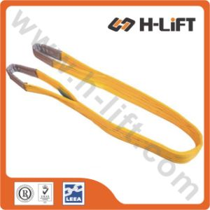 3t Polyester Web Sling / Flat Webbing Sling / Lifting Sling with Loops pictures & photos